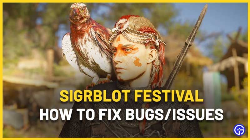 How To Fix AC Valhalla Sigrblot Festival Bugs and Issues