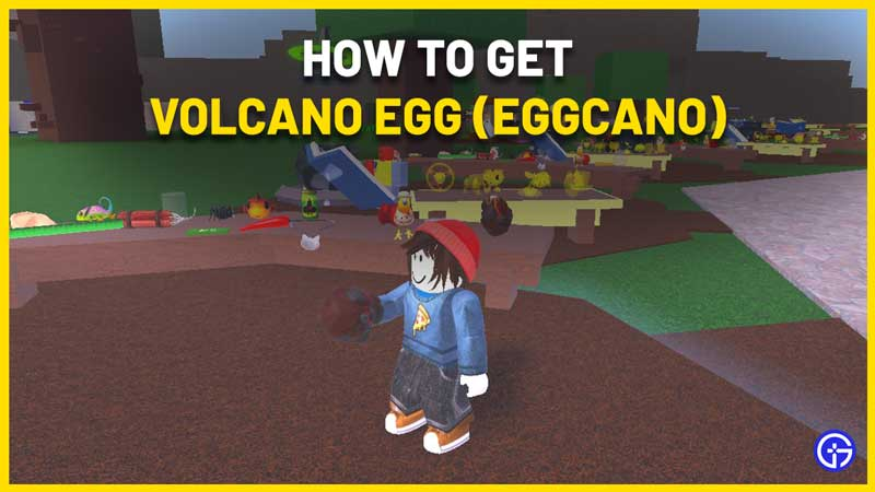 how to get the volcano egg in wacky wizards