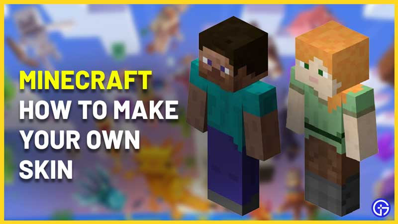 how to make a minecraft skin