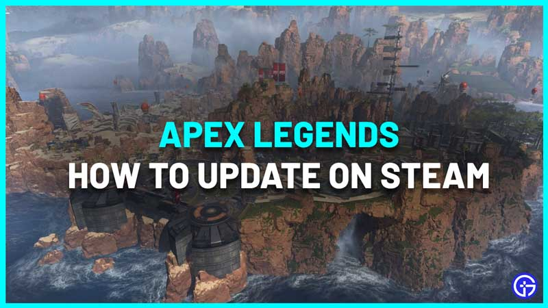 how to update apex on steam
