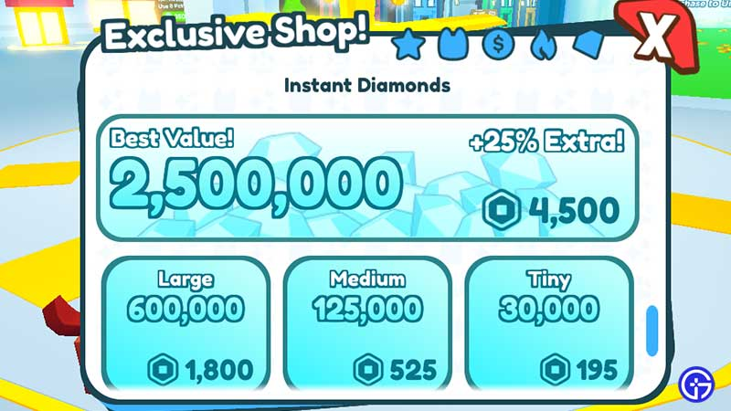 how to get diamonds pet simulator x fast