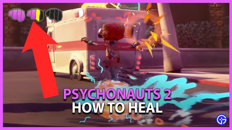 How to Heal in Psychonauts 2