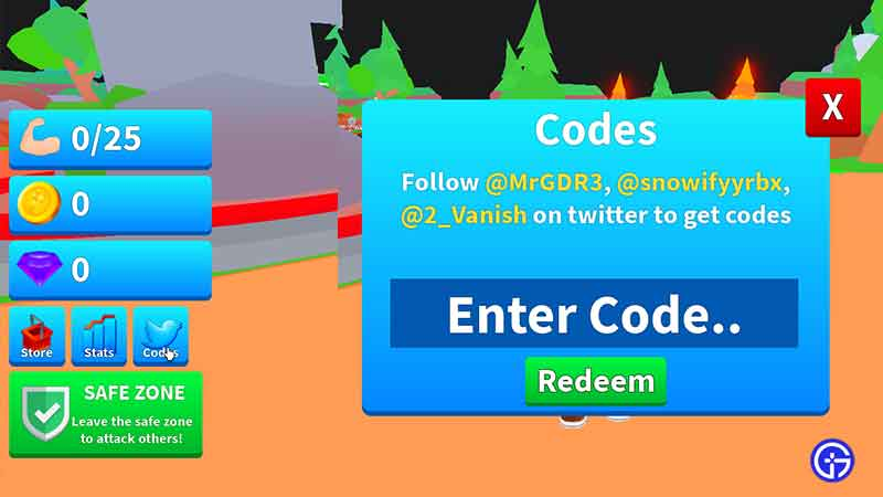 How to Redeem Codes in Roblox Axe Champions