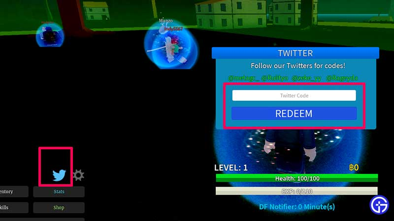 How to Redeem Codes in Roblox Saga Piece