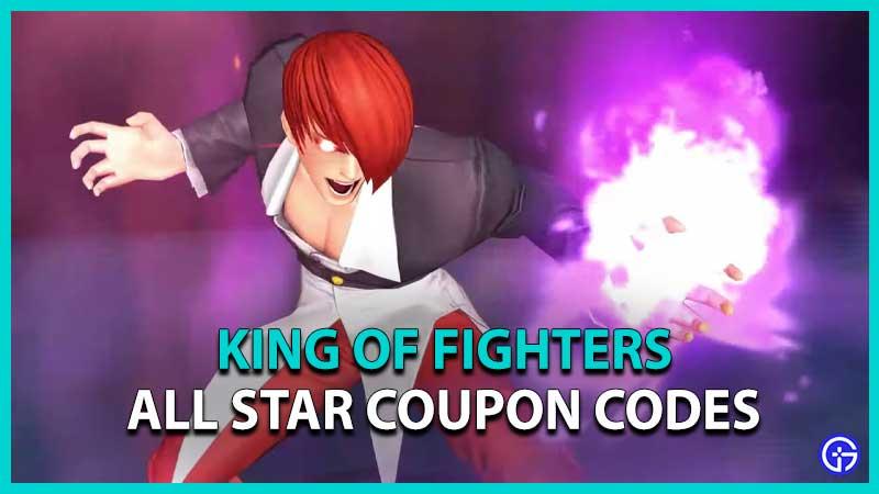 King of Fighters All Star code KOF AllStar Code