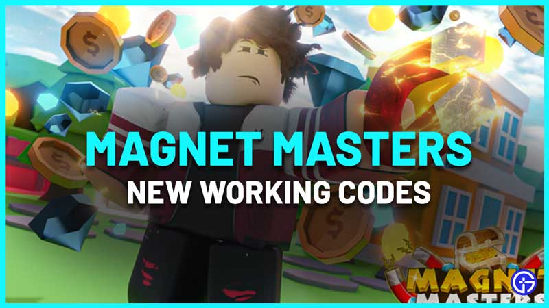 Magnet Masters Codes Roblox