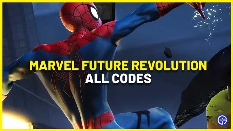 Marvel Future Revolution Codes