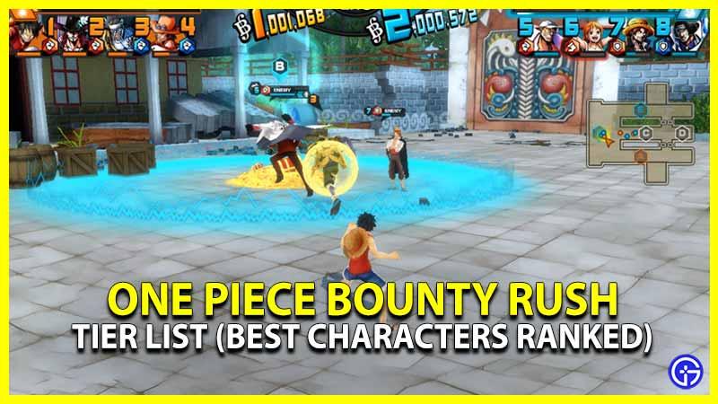One Piece Bounty Rush Tier List