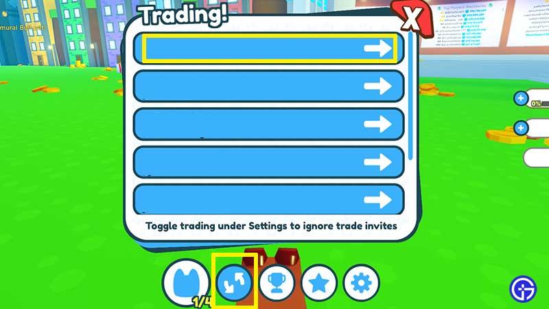 pet sim x trading