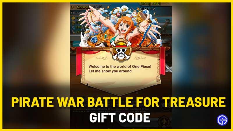 Pirate War Battle For Treasure Gift Code