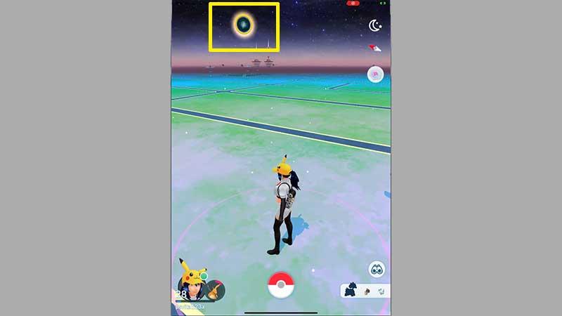pokemon go portals golden rings in the sky