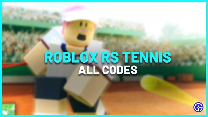 RS Tennis Codes Wiki