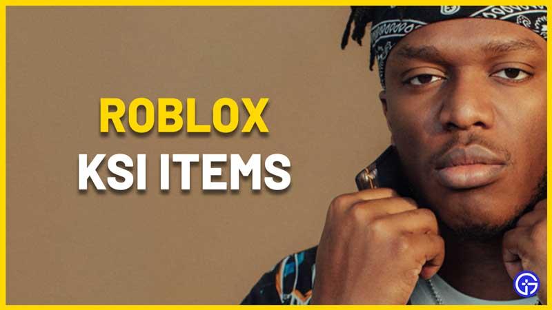 roblox ksi items