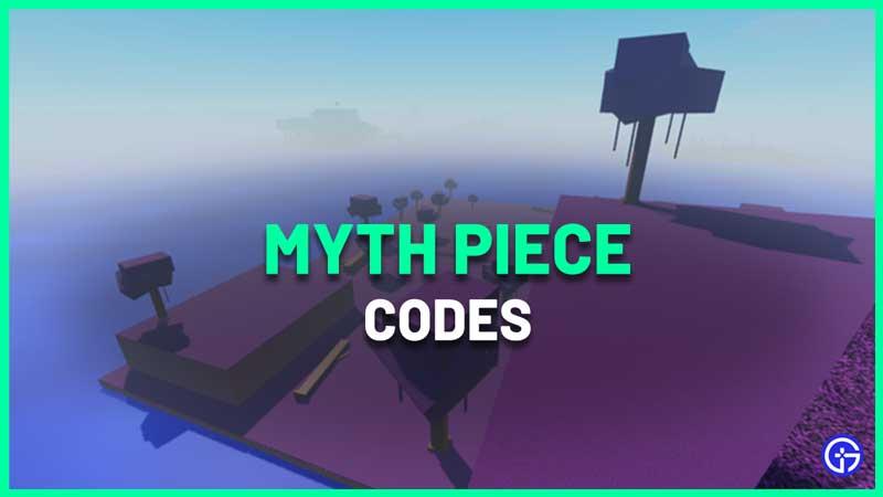 roblox myth piece codes