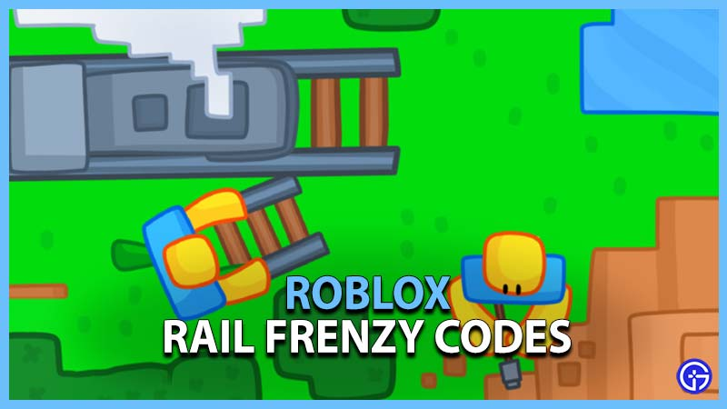 Roblox Rail Frenzy Codes