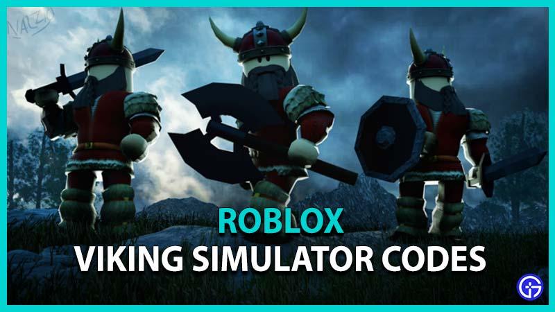 Roblox Viking Simulator Codes