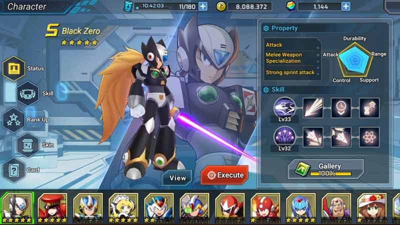 Rockman X DIVE Mega Man X DIVE Reroll Guide