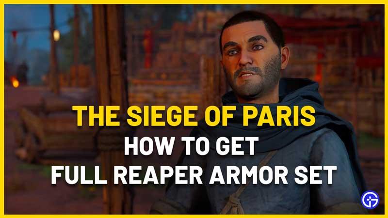 Vendange achievement reaper armor set ac valhalla