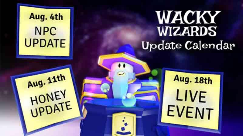 Wacky Wizards Honey Update new potions