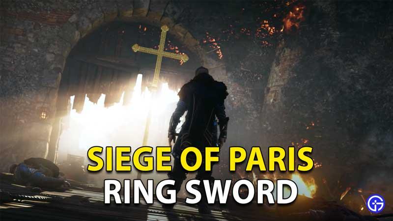 AC Valhalla Ring Sword