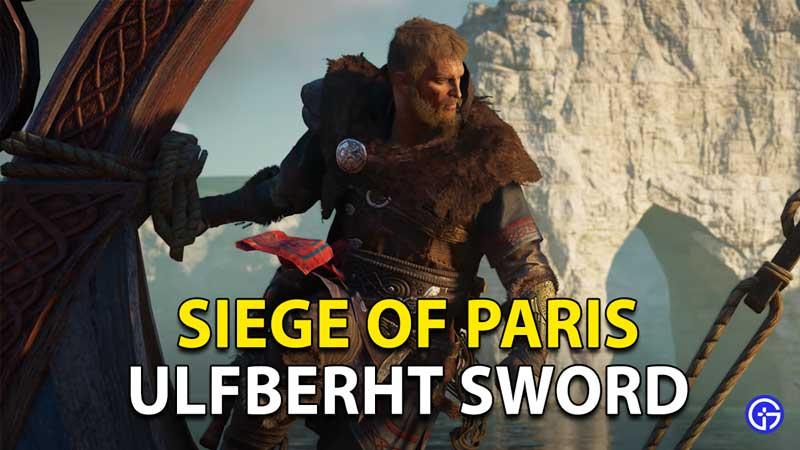 AC Valhalla Ulfberht Sword Siege Of Paris Puzzle