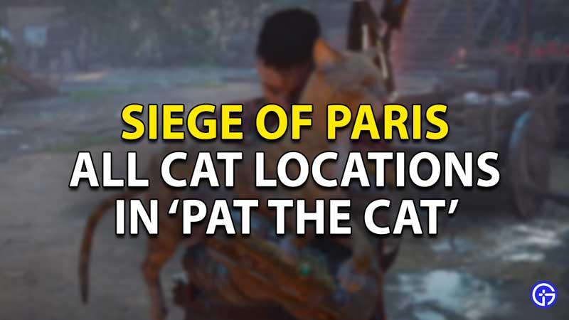 all cat locations pat the cat ac valhalla siege of paris