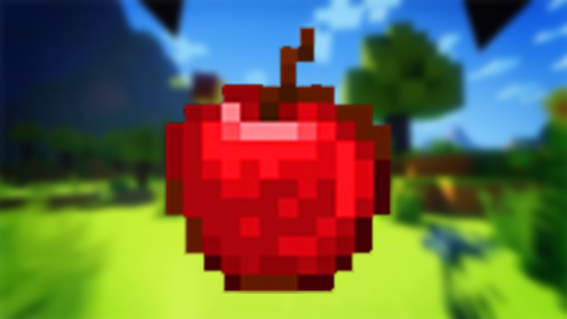 apple minecraft
