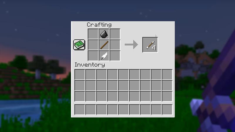 arrows in minecraft