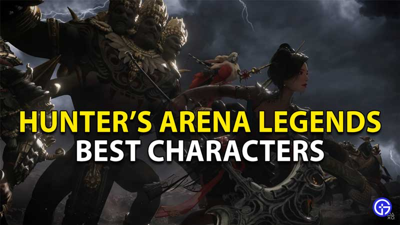 best characters hunters arena 1