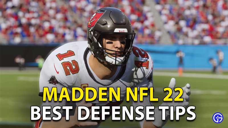 best defense tips madden nfl 22