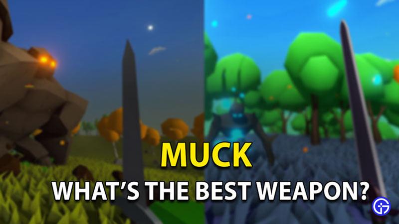 best weapon muck