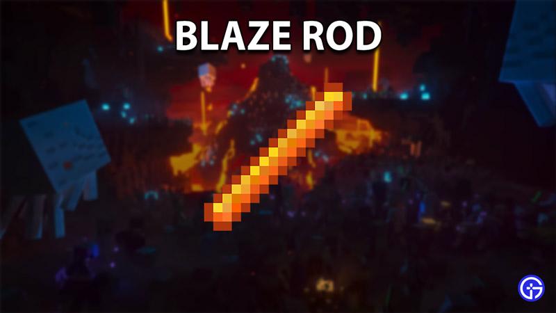 blaze rod minecraft