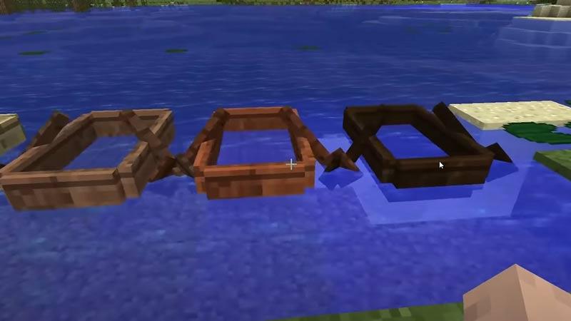 boat minecraft