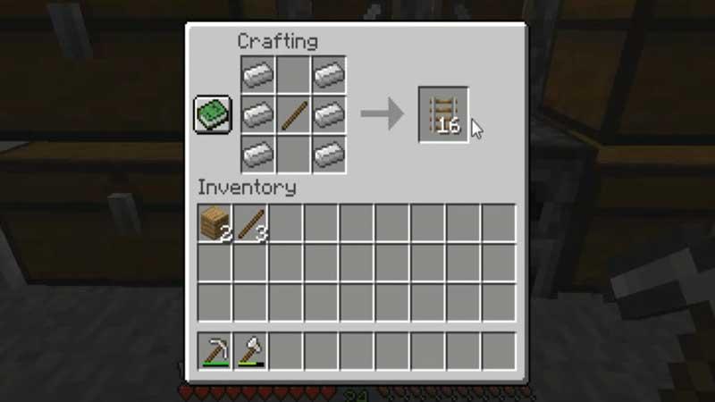 building rail minecraft