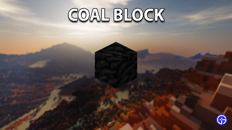 coal block minecraft longest burning fuels