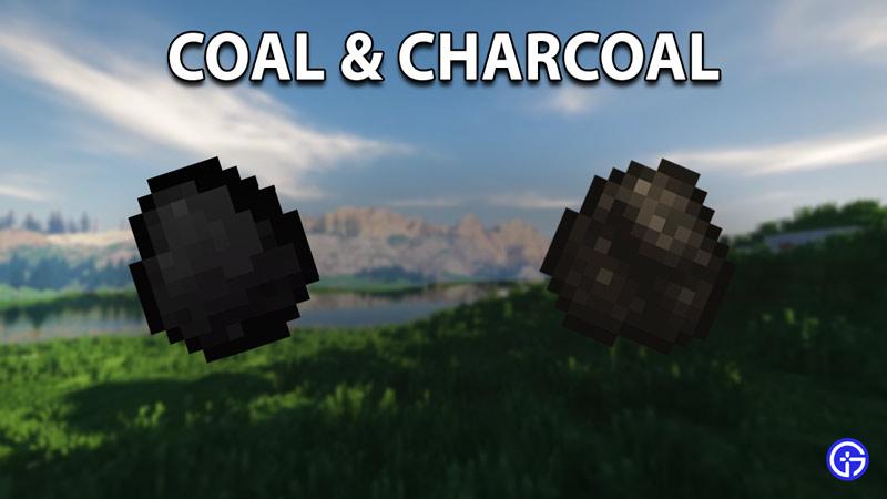coal charcoal longest burning fuel in minecraft