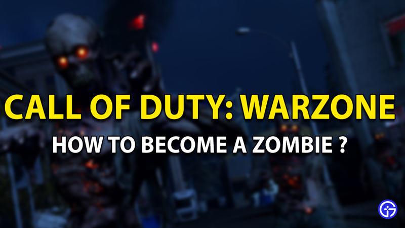 cod warzone zombies