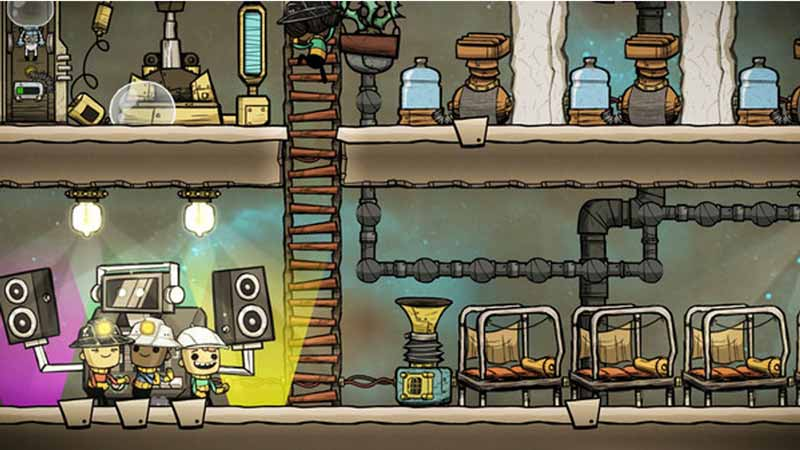commands oxygen not included