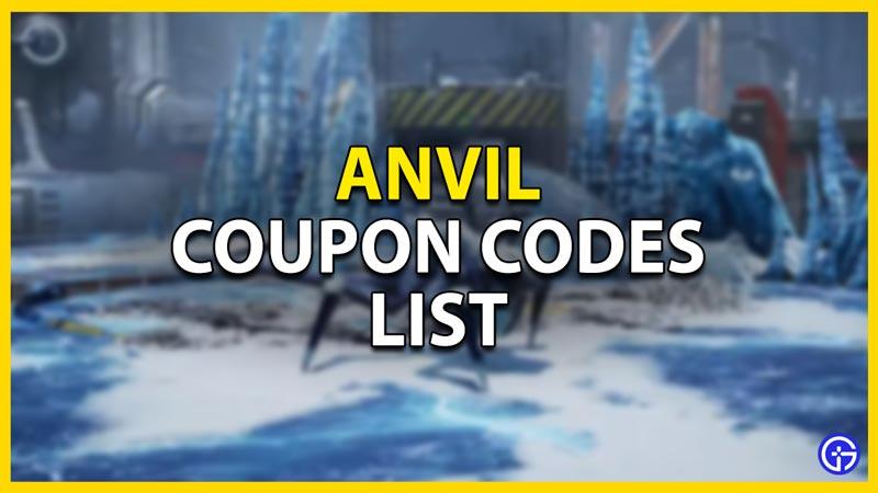Anvil Coupon Codes List