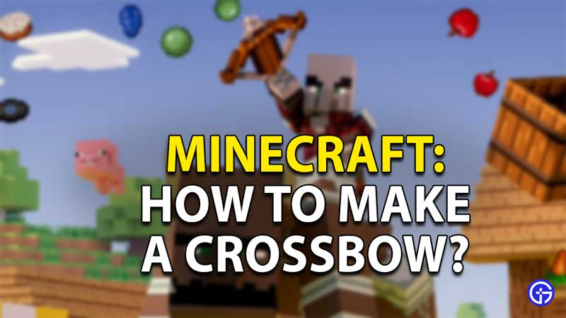 crossbow-minecraft-make
