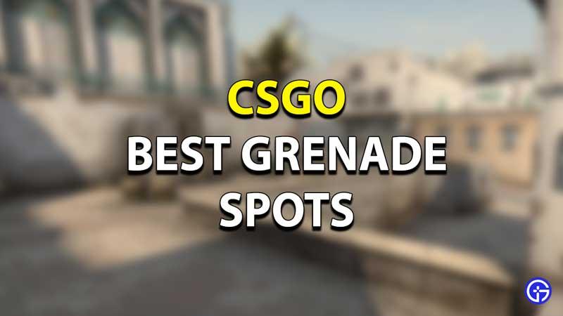 CSGO Best Grenade Spots