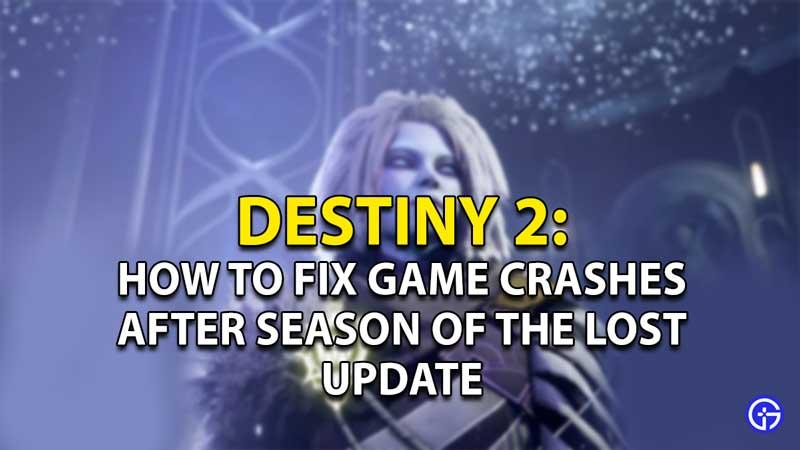 destiny 2 season of the lost