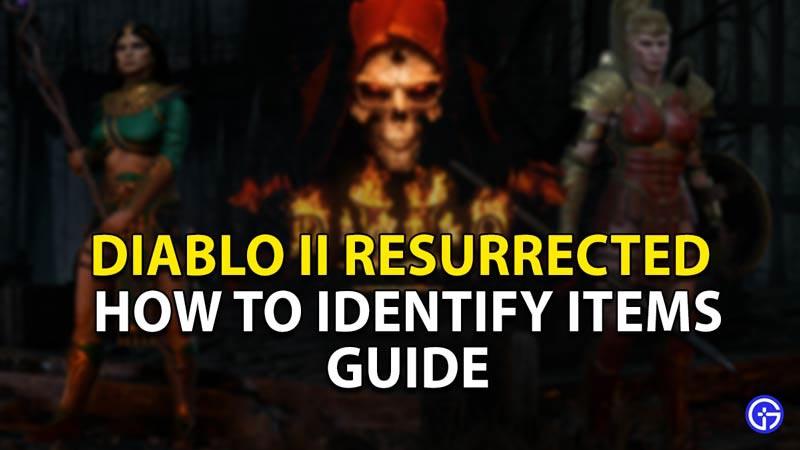 diablo 2 resurrected identify items