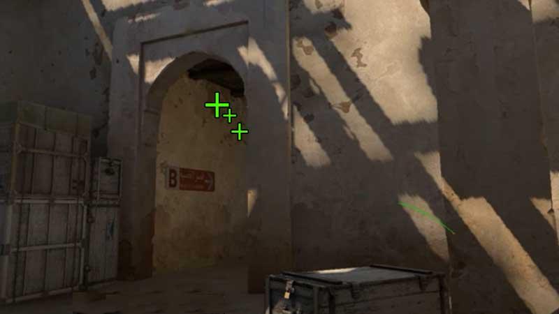 CSGO Dust B-Tunnel Grenade Spot