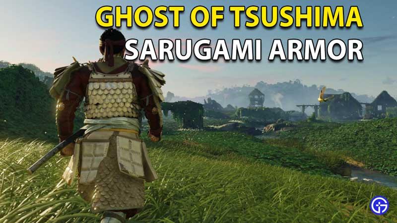 Sarugami Armor Ghost Of Tsushima