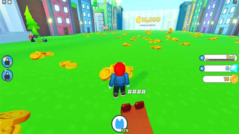 gold coins pet simulator x