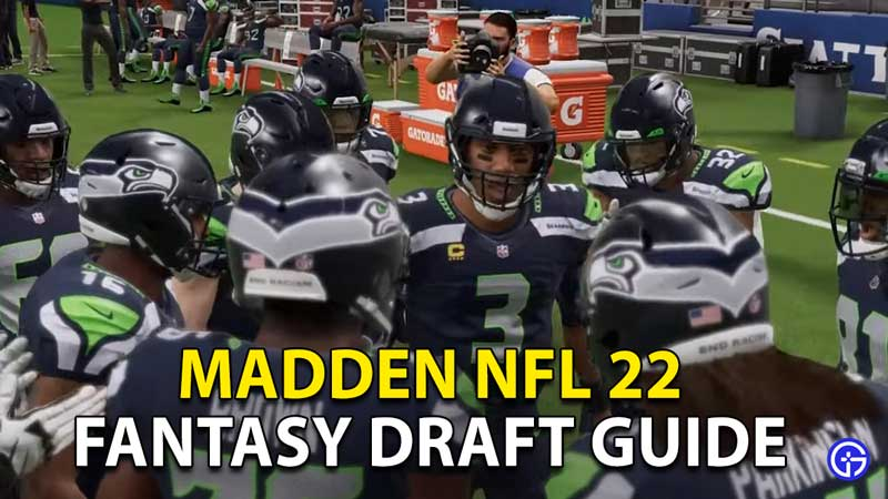 how to do a fantasy draft in madden nfl 22
