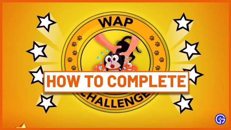 how to do wap challenge bitlife