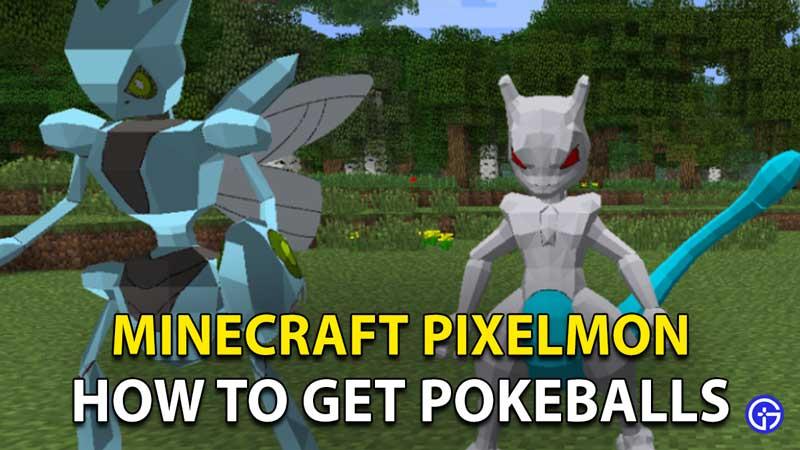 How To Make Poke balls In Pixelmon Minecraft