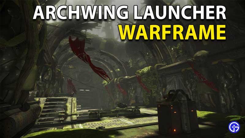 Warframe Archwing Launcher Segment